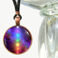 Rainbow Chakra Jewelry Reiki Energy Wearable Art by primalpainter