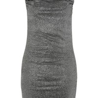 Cowl Neck Glitter Slip Dress - All Dressed Up Collection - Holidays