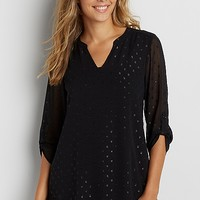 the perfect blouse with shimmering dots | maurices