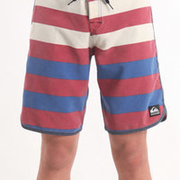 Quiksilver Cypher Brigg Striped Boardshorts