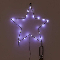 Light-Up Star Wall Hook | Urban Outfitters