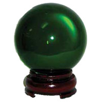 Green Crystal Ball 80mm