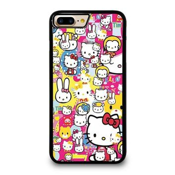 HELLO KITTY STICKER BOMB iPhone 7 Plus Case Cover