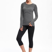 Go-Dry Seamless Performance Top for Women | Old Navy