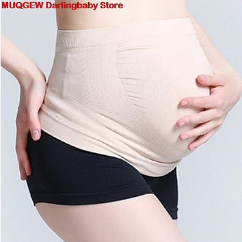 Pregnancy Maternity Belly Belt Tummy Brace Abdomen Support Belly Bands Support Back Bump Nursing Maternity Clothings Intimates