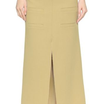 J.W. Anderson Long Slit Front Skirt