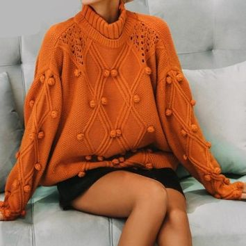 Knitted pullovers vintage sweater
