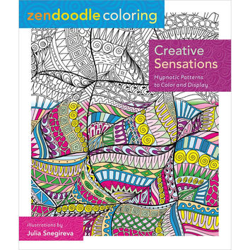 St Martins Books Zendoodle Creative Sensations Adult Coloring Book