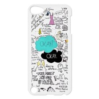 The Fault in Our Stars Personalized Music Case Snap On Ipod Touch 5th Case Durable Plastic Hard Case for Ipod Touch 5th Generation-IT5TF04