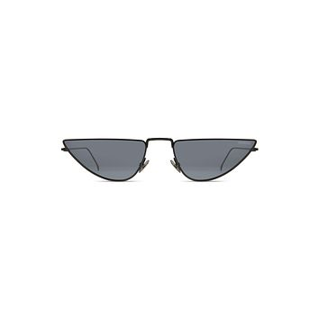 Komono - Ava Black Sunglasses / Solid Smoke Lenses