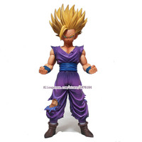 23cm Anime Dragon Ball Z Super Saiyan Son Gohan Action Figures Master Stars Piece Dragonball Figurine Collectible Model Toy