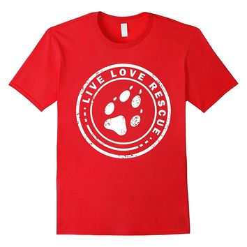 Rescue Animals Shirt Cat and Dog Shirt | Adopt a Pet T-Shirt
