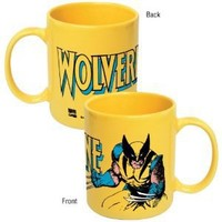 Marvel Comics Wolverine Yellow Ceramic Coffee Mug