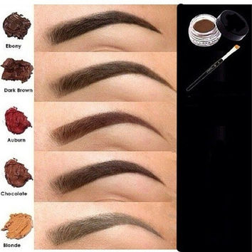 5 Colors Brown Waterproof Eyebrow Liner Eyes Cosmetic Beauty Long Lasting [9305877767]