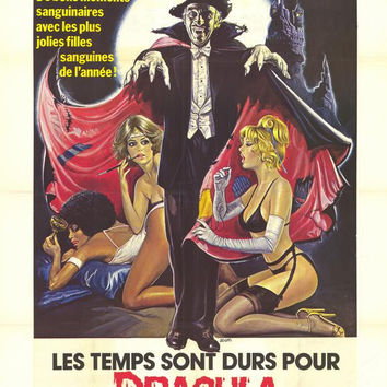Old Dracula (French) 11x17 Movie Poster (1975)