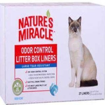 Nature's Miracle Litter Pan Liners Jumbo 27ct