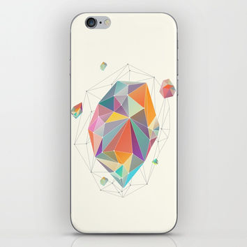 Crystallized VII iPhone Skin by printapix