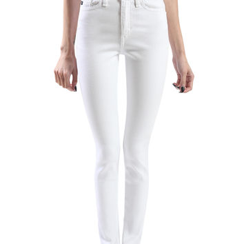 LE3NO Womens Premium High Waisted Skinny Jean Pants with Stretch