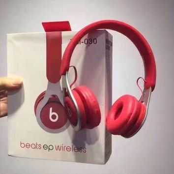 Beats EP Wireless Magic Sound Bluetooth Wireless Hands Headset MP3 Music Headphone with Microphone Line-in Socket TF