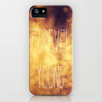 Forever Young Bokeh iPhone Case by Kian Krashesky