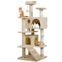 Cat Tree Kitten Scratcher Play House Condo Furniture