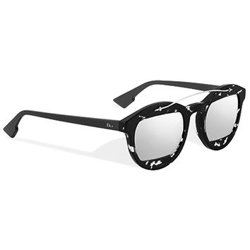 """diormania1""sunglasses, grey and silver - Dior"
