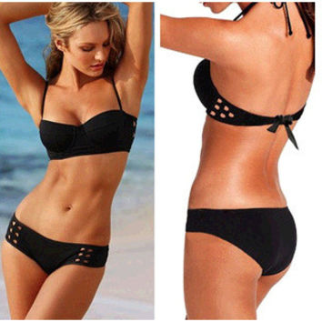 Woman Beach Party Poolside Swimsuits Bathing suit Beachwear Sexy Bikini Swimwear = 6095742147