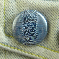 "1"" Pin Back Button- Joy Division - 1335"