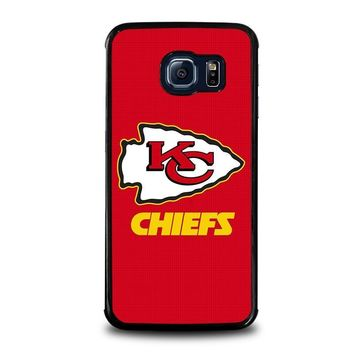 kansas city chiefs samsung galaxy s6 edge case cover  number 1