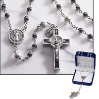 Saint Benedict Rosary with Gift Box