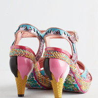 Irregular Choice Quirky Flavor of Luxe Heel