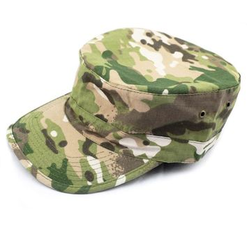 Trendy Winter Jacket Fashion Style Baseball Cap Camouflage Cap Army Sun Hat Snapback Hat Flat Cap Tactical Casquette Bones Hat SWAT Casual Gorras AT_92_12