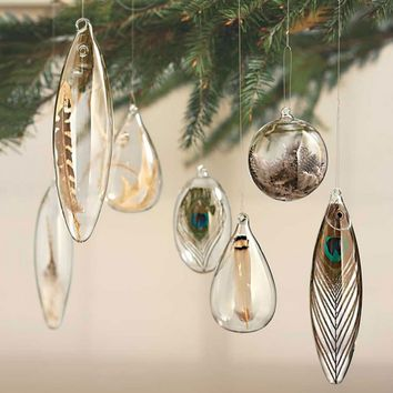 Birds of a Feather Ornaments - Set of 7