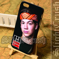 Taylor Caniff Magcon Boys - iPhone 4/4s/5/5s/5c Case - Samsung Galaxy S3/S4/S3-mini Case - Black or White