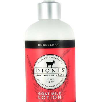 Dionis Goat Milk Roseberry Skincare Hand Lotion 8oz.