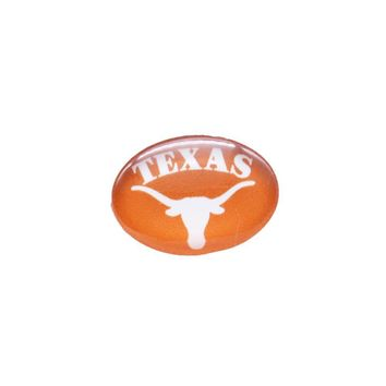Snap Button 18mmX25mm NCAA Texas Longhorns Charms Interchangeable Buttons Bracelet Basketball Fans Gift Paty Birthday 2017