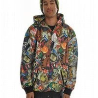 Analog Andrew Hoodie Trza - Mens