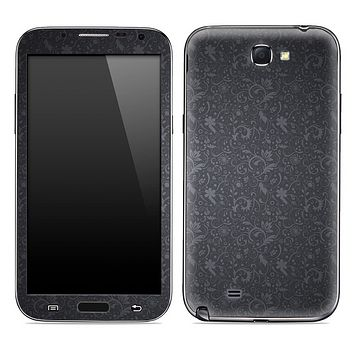 Gray Floral Laced Skin for the Samsung Galaxy Note 1 or 2
