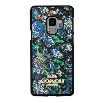 COACH NEW YORK MEADOW Samsung Galaxy S3 S4 S5 S6 S7 S8 S9 Edge Plus Note 3 4 5 8 Case
