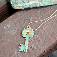 Om Key Necklace