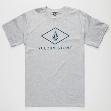 Volcom Viamond Mens T-Shirt Charcoal  In Sizes