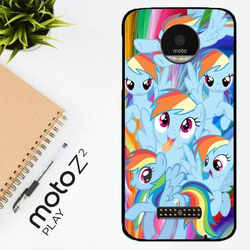 Mlp Rainbow Dash R0177A Motorola Moto Z2 Play Case