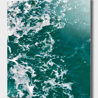 «Emerald Waters», Numbered Edition Aluminum Print by ARTbyJWP - From $59 - Curioos