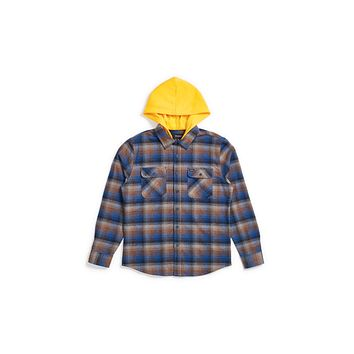 Brixton Bowery Hooded Flannel