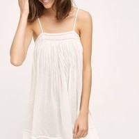 Eloise Embroidered Zoe Slip in Cream Size: