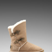 Australia Luxe Collective Renegade Short Boot with Sheep Shearling in Tan