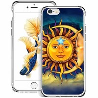 Sangkoo iPhone 6 6s regular 4.7 inch Case, Sun and Moon Pattern Design Soft TPU Materials Case For iPhone 6 6s regular 4.7 inch