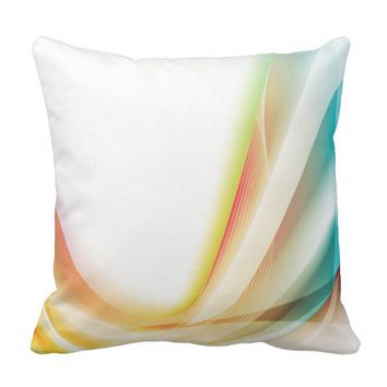Abstract Swirl 2 Throw Pillow