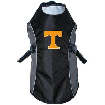 DCCKT9W Tennessee Vols Water Resistant Reflective Pet Jacket