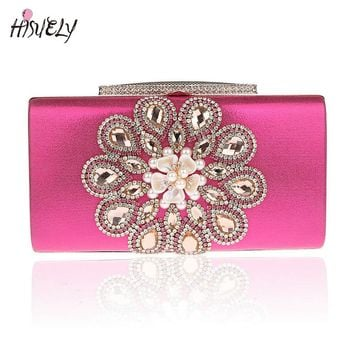 2017 Fashion Women Handbags Metal Patchwork Shinning bling Shoulder Bags Ladies Print Day Clutch Party Evening Bags WY119